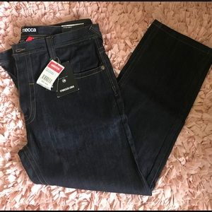 Mecca Men's Straight Leg Jeans. Size 44x32. NWT.